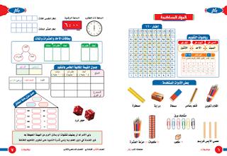 الوحدة الأولى من كتاب بكار رياضيات الصف الثانى الابتدائى الترم الثانى 2020 - 2021 م