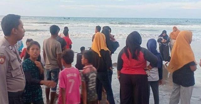 Jihar News, Diduga Terseret Ombak, 2 Bocah Banda Baro Tenggelam Di Laut Bangka