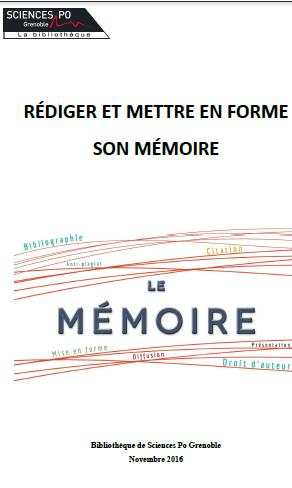 Mise En Page Mémoire Originale