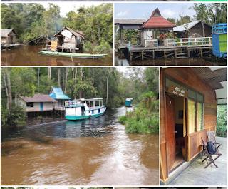 Lokasi Rute Wisata Taman Nasional Tanjung Puting