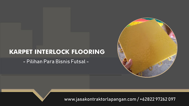 Karpet Futsal Interlock