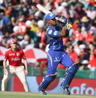 Lendl Simmons 71 - KXIP vs MI 35th Match IPL 2015 Highlights