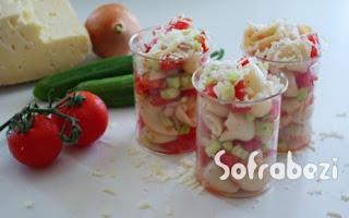 Kolay Makarna Salatasi