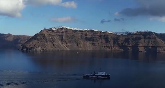 Τα ηφαίστεια της Ελλάδας μέσα από ένα εντυπωσιακό εναέριο βίντεο