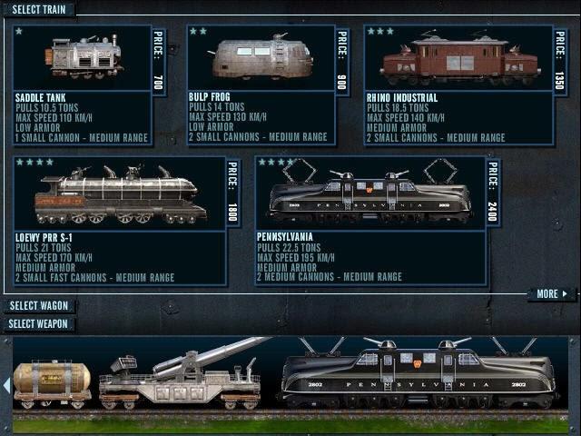 Kereta Api Tempur Rail Of War