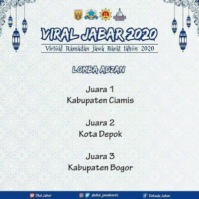 Lomba Adzan Jawa Barat