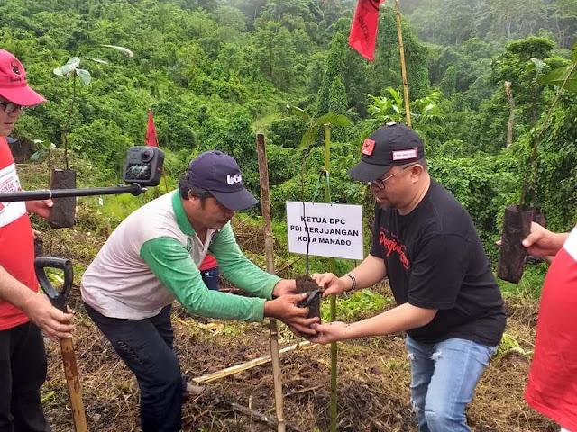 Richard Sualang Pimpin Gerakan Mencintai Bumi dan Tanam Pohon