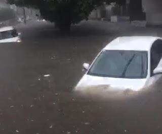 Alagamentos: João Pessoa registra 50,8 mm de chuva em apenas 6h; veja vídeo