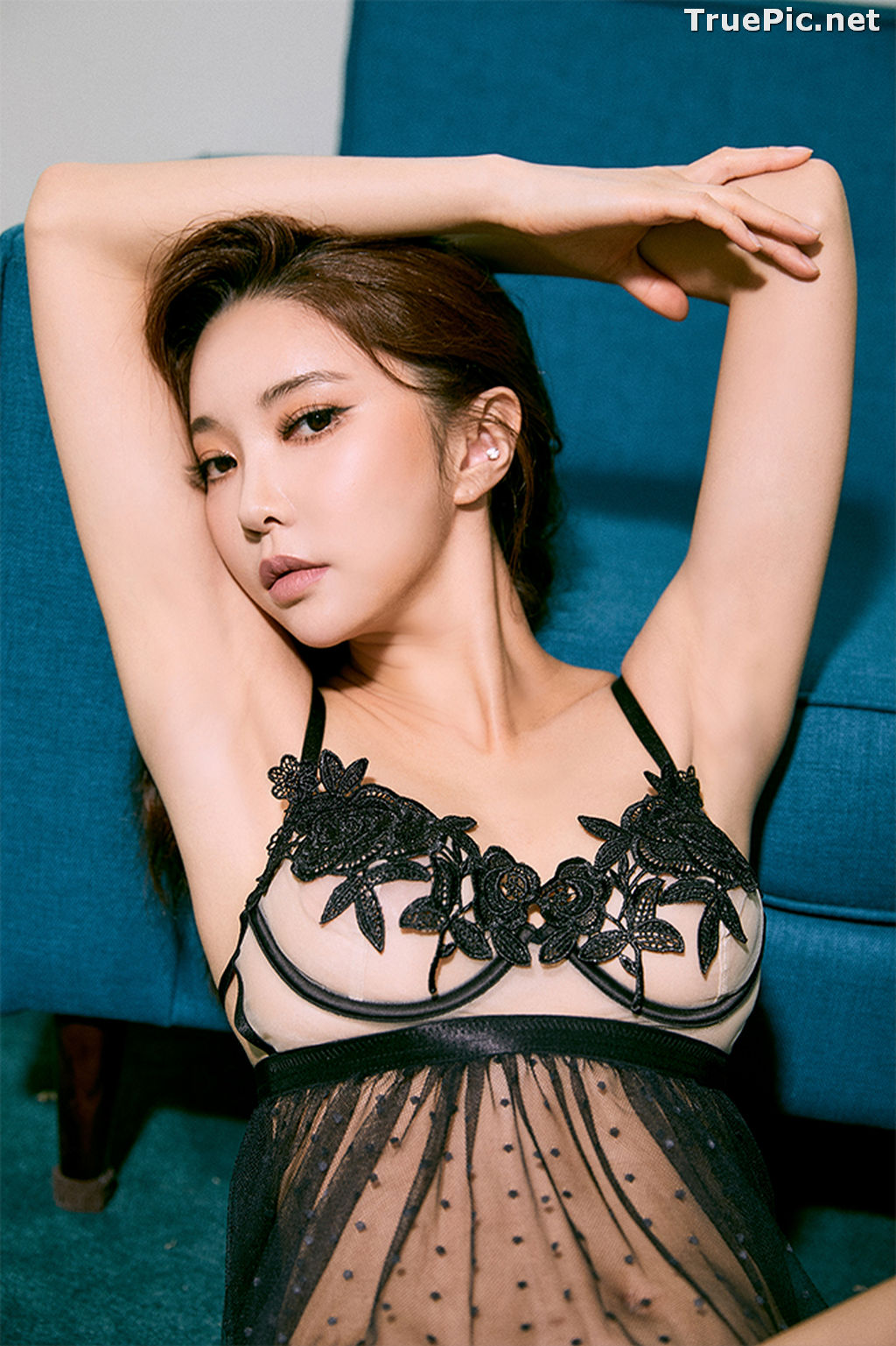 Image Korean Fashion Model – Park Soo Yeon (박수연) – Come On Vincent Lingerie #1 - TruePic.net - Picture-5