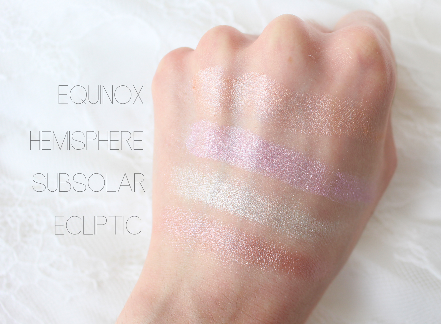 sleek solstice palette highlight swatches