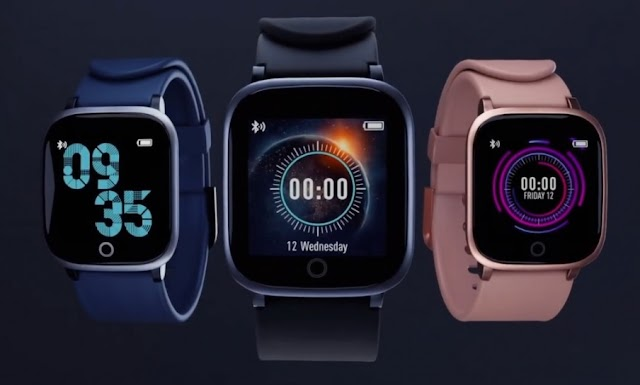 Syska Launched smartwatch with Heart rate sensor at ₹2,499