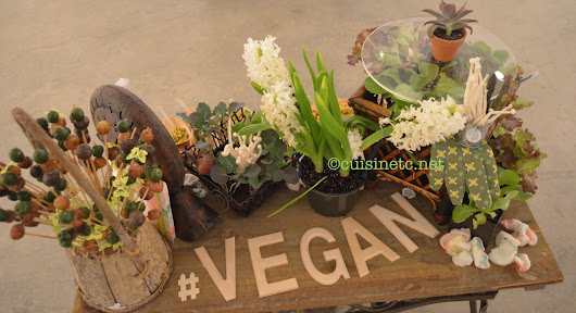 #vegan Plant-based eating takes on a whole new meaning with vegan catering