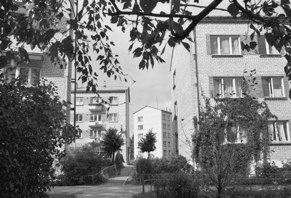 1977 год. Рига. Югла. Жилые дома