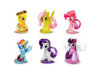 New My Little Pony Happy Meal Figures at McDonalds Switzerland