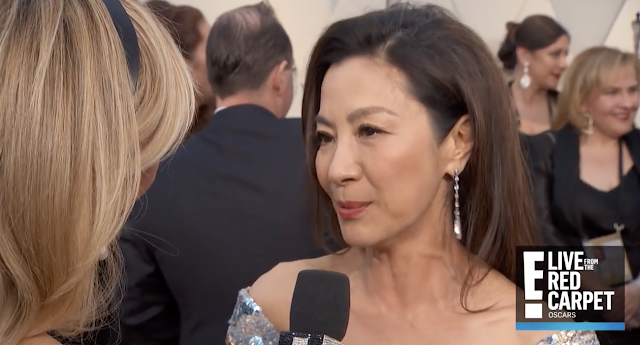 'Crazy Rich Asians' Star Michelle Yeoh: 'Let's Not Nominate' Movies for Awards Based on 'Gender or Diversity' (VIDEO)