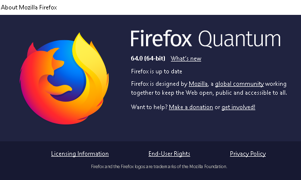 فايرفوكس 64 وصل مع التوصيات الذكية وإدارة أفضل لعلامات التبويب
