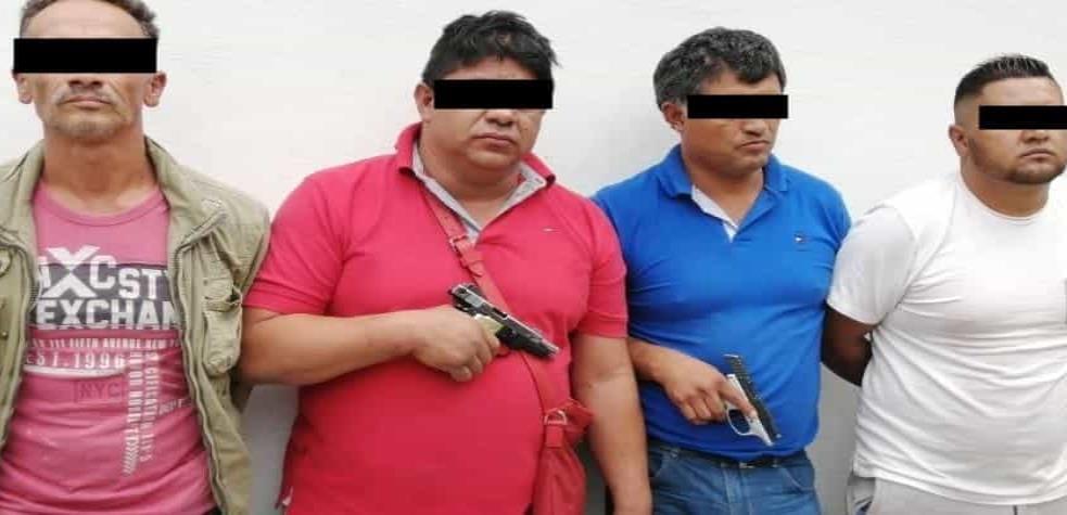 """Cae """"El Escorpión"""" cabecilla del Cártel de Tláhuac junto a tres expolicías; uno federal y dos más de la Ciudad de México"""