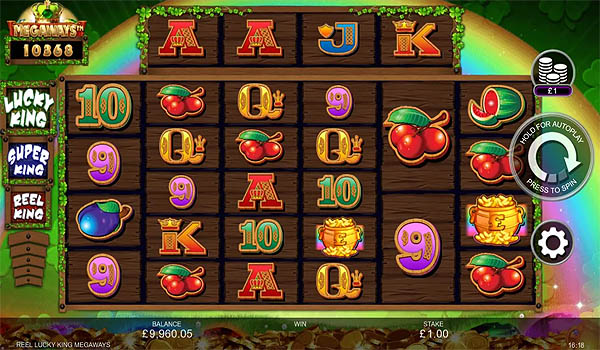 Main Gratis Slot Indonesia - Reel Lucky King Megaways Inspired Gaming