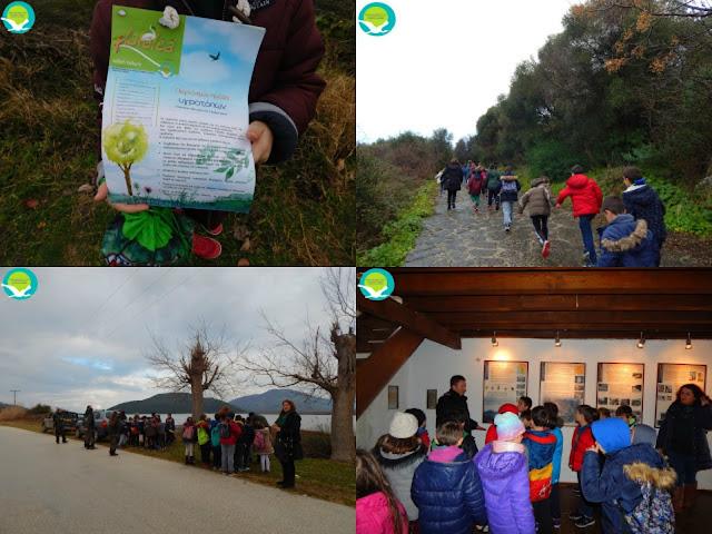 Ηγουμενίτσα: Μαθητές γιόρτασαν την Παγκόσμια Ημέρα Υγροτόπων 2017, μαζί με τον Φορέα Διαχείρισης Καλαμά και Αχέροντα