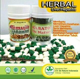 Obat Liver Tradisional De Nature Herbal Aman