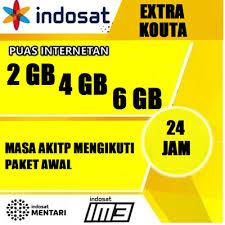 Paket Data Indosat Extra Quota