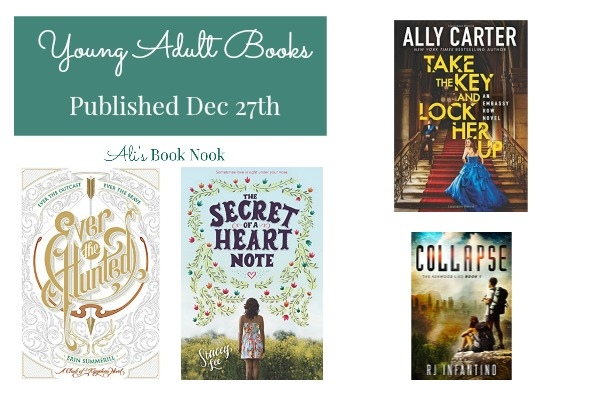Exciting new books for teens Ally Carter and Erin Summerill