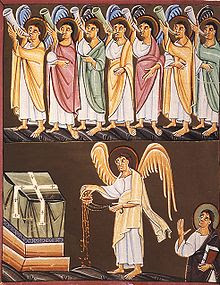 Angels-with-7-trumpets-painting