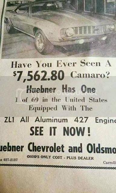 69 ZL-1 Camaro #69