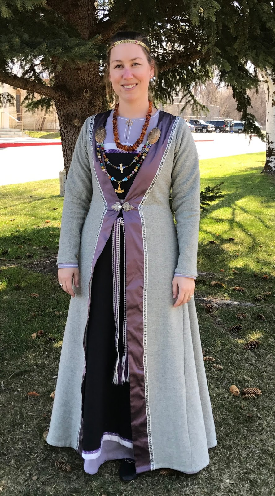 Jane Fox Historical Costumes Norse Clothing And Vikings In The Sca