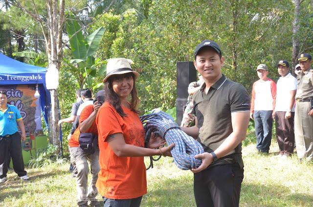 Bupati Trenggalek Buka Indonesia Climbing Festival (ICF) 2019 Etape 3 di Tebing Spikul