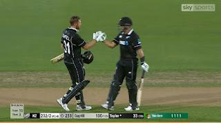 Martin Guptill 117* - New Zealand vs Bangladesh 1st ODI 2019 Highlights