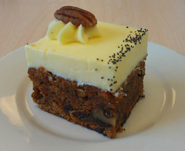 Shaky Isles, Newmarket, New Zealand, carrot cake