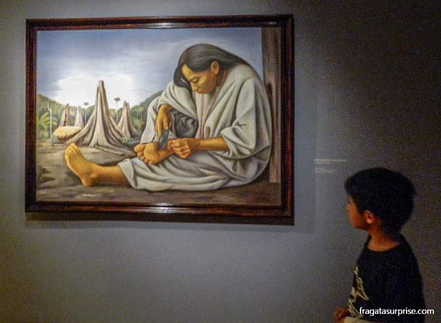 O Espinho, de Raúl Anguiano, no Museu de Arte Moderna da Cidade do México