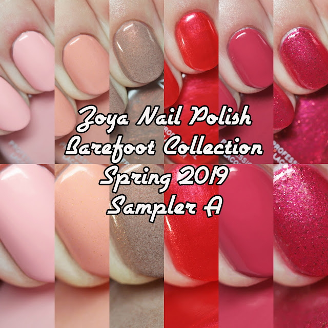 Zoya Barefoot Collection Spring 2019 Sampler A