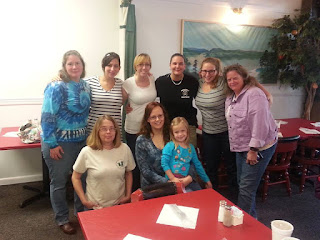 Image of Mommy Jenny with Smyth County Animal Shelter Volunteers and City Dogs Rescue team
