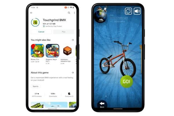 Android 12 pode permitir que jogues jogos antes que eles terminem de fazer download