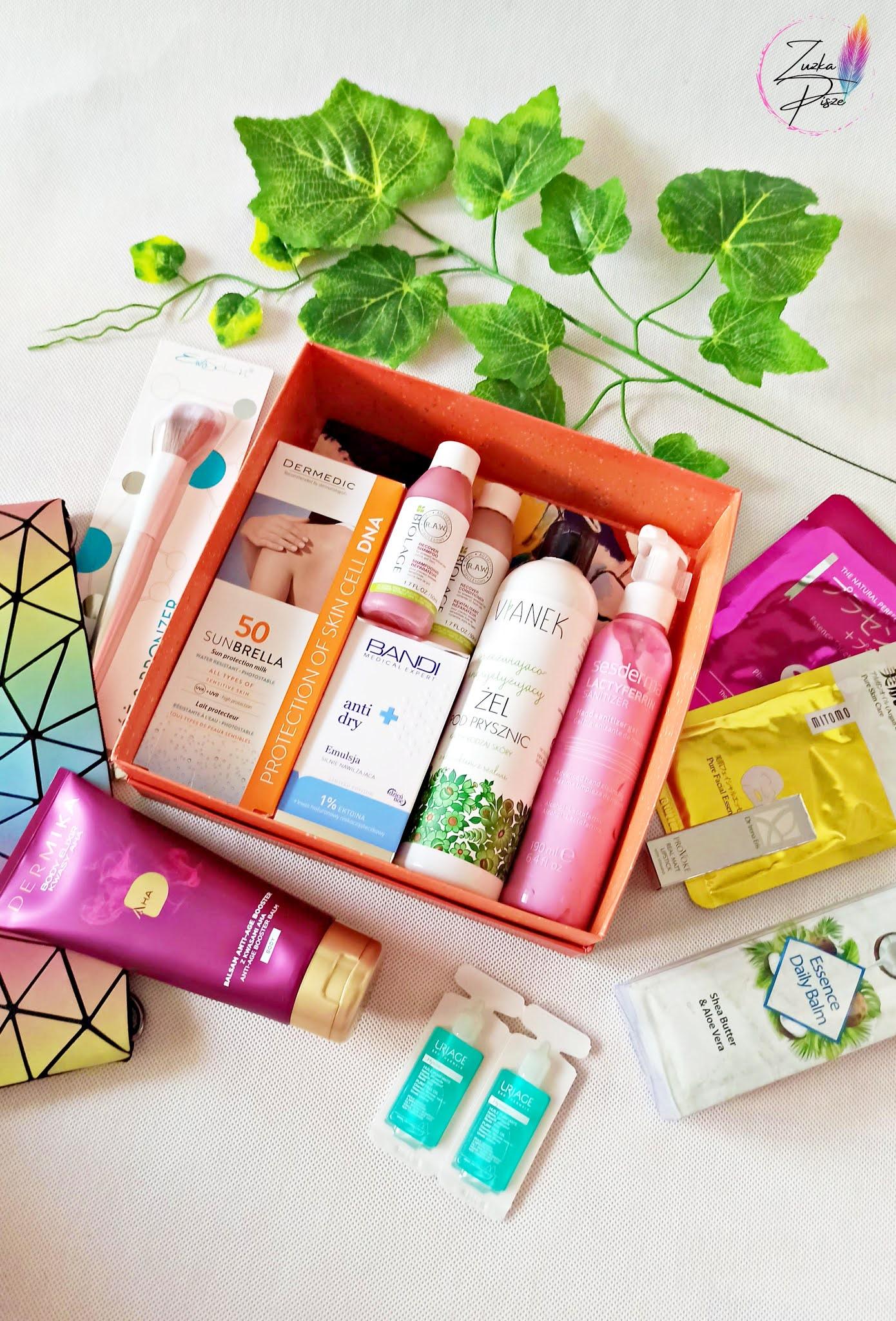 Pure Beauty BOX - SIMPLY ENERGY - otwieramy pudełko kosmetyczne
