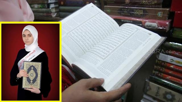 Gadis Ini Berhasil Hafalkan 30 Juz Al-Qur'an dalam Waktu 6 Bulan Saat Lockdown