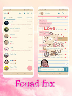 Teddy & Girl Theme For YOWhatsApp & Fouad WhatsApp By Ave fénix