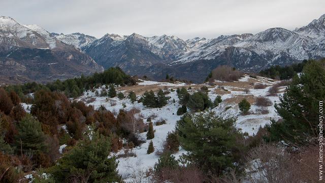 Senderismo Ruta pirineos sencilla valle de Tena