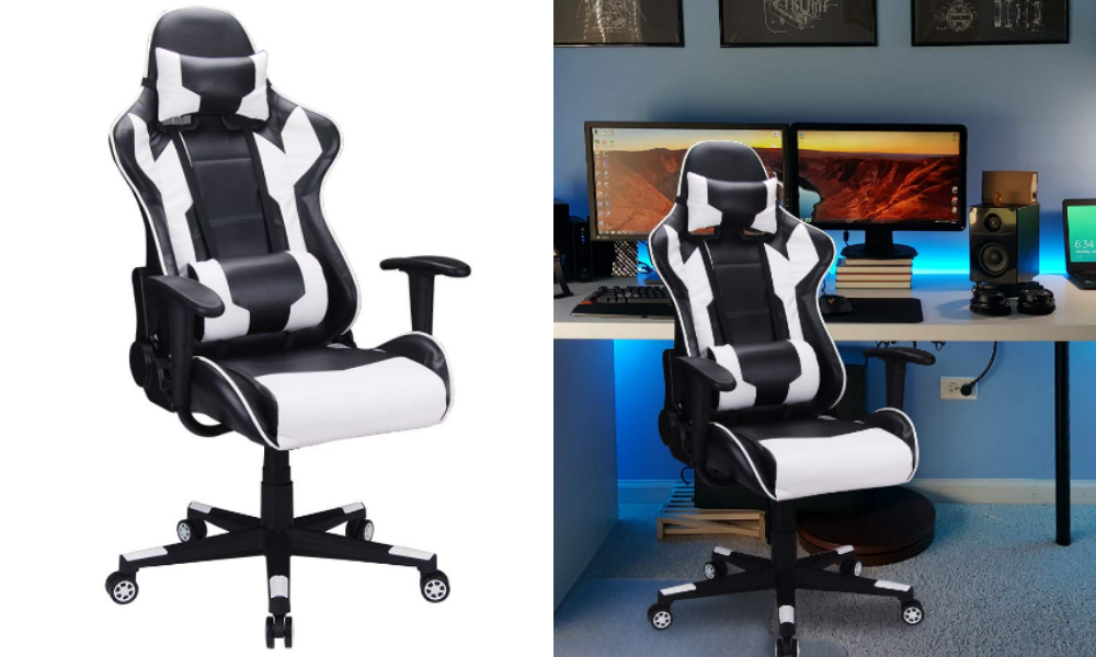 Polar Aurora Gaming Chair Racing Style
