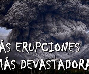 ¿Habrá muchas más erupciones de volcanes devastadoras en el futuro?