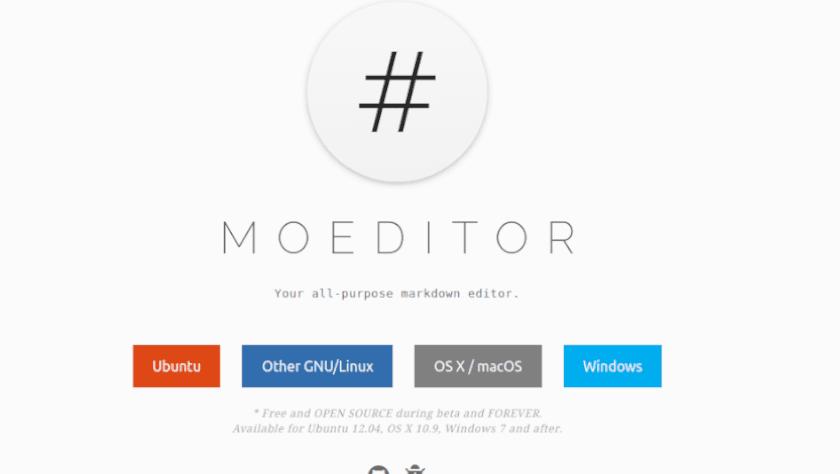 Moedit - Editor markdown
