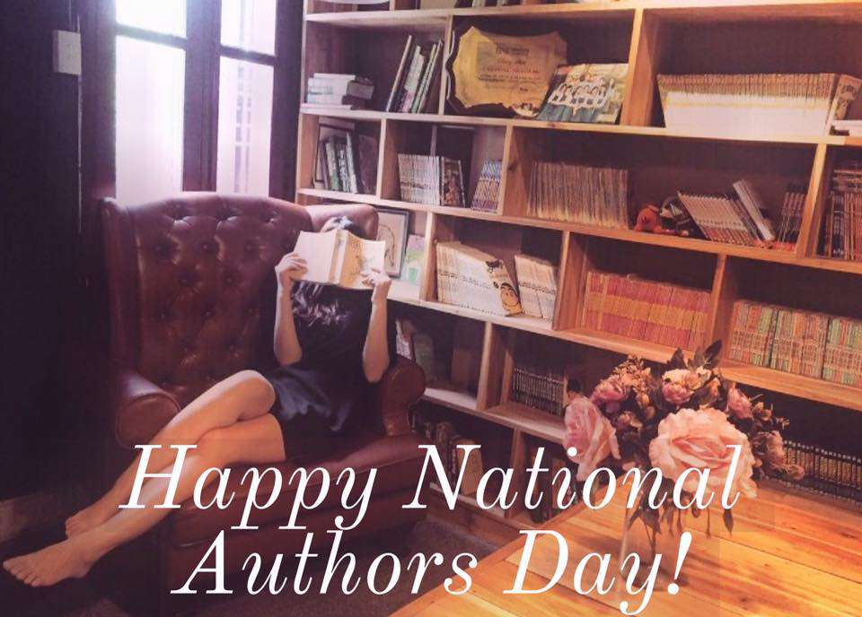 National Author's Day Wishes For Facebook