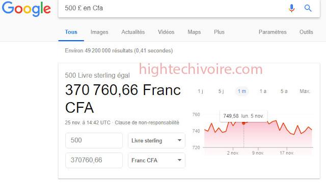 google-convertir-argent