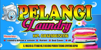 Download Contoh Spanduk Laundry Format CDR - KARYAKU