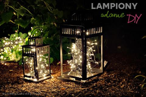 Lampiony solarne na ogród lub taras - jak je zrobić? ♥ Gdzie kupić lampki solarne? - czytaj dalej »