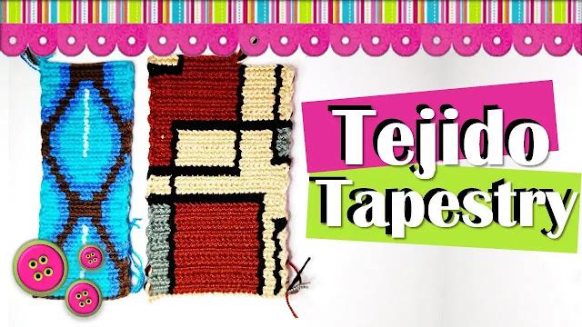 Aprende a Tejer Tejido Tapestry a Crochet