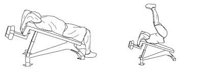 rutina de abdominales ilustrada