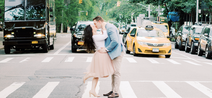 A Sweet Central Park Engagement